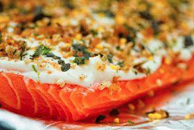 kruizing with kikukat: Tribute to Uncle George: Furikake Salmon
