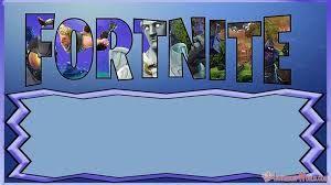 Resultado De Imagen Para Fortnite Invitation Imprimibles