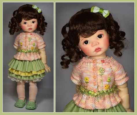 Spring Outfit for Saffi by Meadowdolls by Maggie & Kate Create