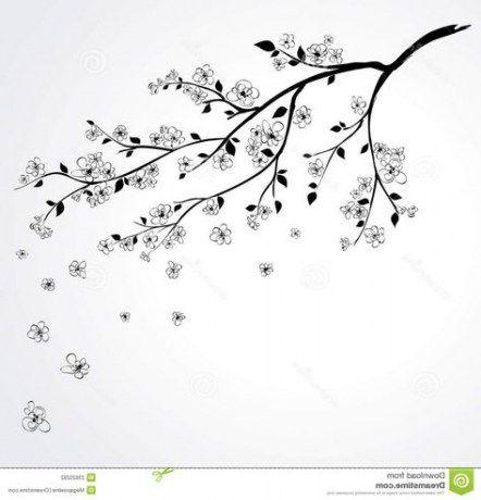 Tree Branch Sketch Cherry Blossoms 25 Trendy Ideas Tree Tattoo Drawings Tree Drawing Branch Drawing