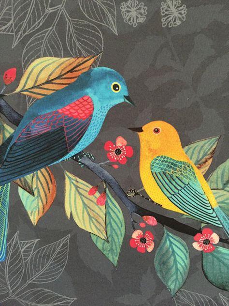Spring Love by Geninne on Etsy