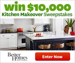 Kitchen Makeover Sweepstakes Contest Pinterest - Kitchen remodel sweepstakes