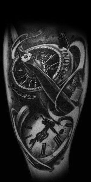 50 Propeller Tattoo Ideas For Men Bladed Fan Designs With