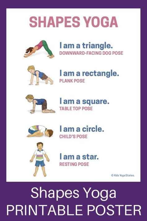 photograph relating to Kids Yoga Poses Printable named Designs Yoga: How toward Educate Designs in the course of Stream (Printable