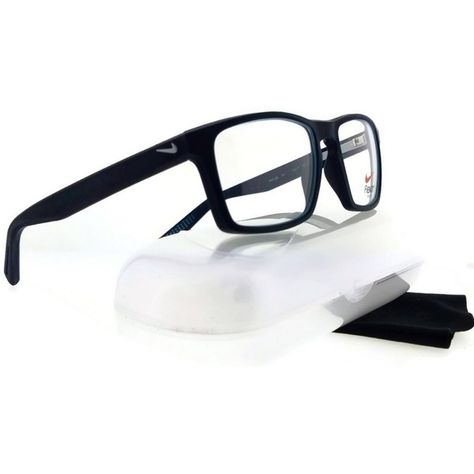6ee7142a4a7 Spotted while shopping on Poshmark  4258-034-53 Men s Blue Frame Clear Lens  Eyeglasses!  poshmark  fashion  shopping  style  Nike  Other