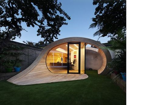 Platform architects shed office shoffice architecture