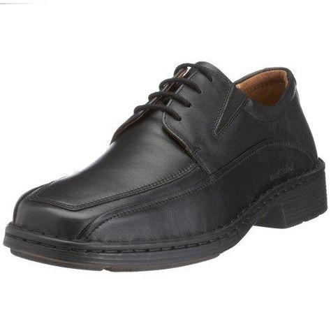 Trucker - Calzado de protección de cuero para hombre negro negro, color negro, talla 41