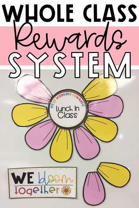 Class Reward System, Classroom Reward System, Reward System For Kids, Classroom Incentives, Classroom Management Techniques, Classroom Management Strategies, Behavior Management System, Kindergarten Behavior, Kindergarten Classroom Management