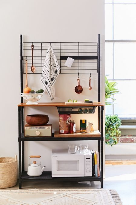 229 Wall Storage Shelving Urban Outfitters Kitchen Decor Apartment Small Kitchen Decor Small Kitchen Decoration