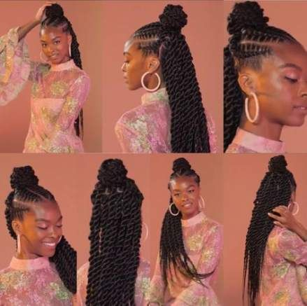 24+ Feed in braids with senegalese twist inspirations