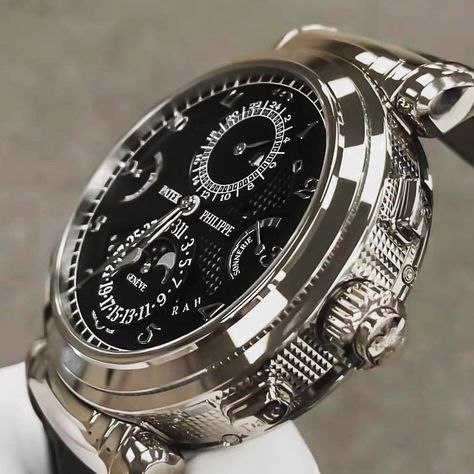 The Beautiful Patek Philippe The Grandmaster Chime How many hours of engraving do you think it takes to produce this masterpiece?