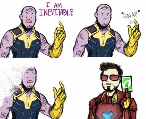 Thanos was unprepared