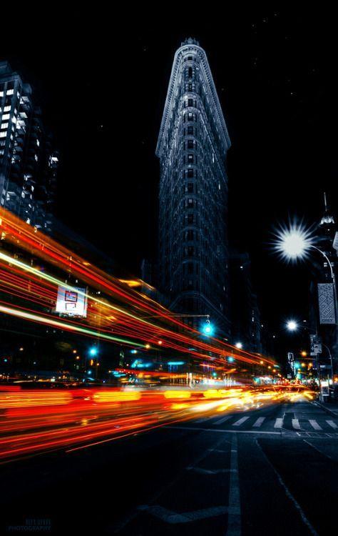 Flatiron rush by Alex Rykov #nyc