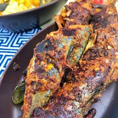 Resep Kembung Bakar Padang Oleh Xander S Kitchen Cookpad Resep Ikan Bakar Resep Masakan Masakan