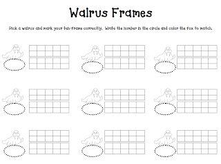 walrus ten frame
