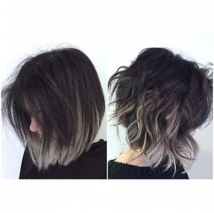 19 Ideas Hair Balayage Short Straight Dark Hair Styles Short Hair Styles Short Hair Color