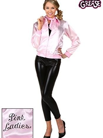 Ladies Grease Pink Lady Jacket Amazing Low Price @ www - greaser halloween costume ideas