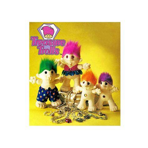 trolls #90s #nostalgia #toys ...