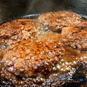 Sizzle Burgers Are Fried Ground Beef Patties Seasoned With Salt Pepper In A Pan With Worcesters Beef Patties Recipes Burger Recipes Beef Burger Patty Recipe