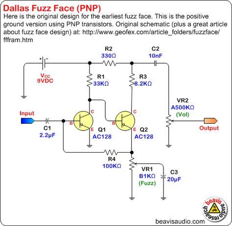 12 best distortion schematics images on pinterest guitar pedals  ug munity jimi hendrix fuzz face wiring diagram