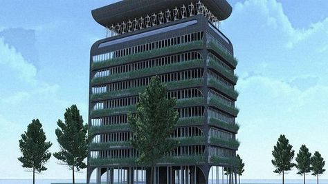 This Building Doesn't Need A/C: The Building Itself Is An Air Conditioner