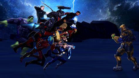 Avengers Endgame Wallpaper 4K Pc Trick