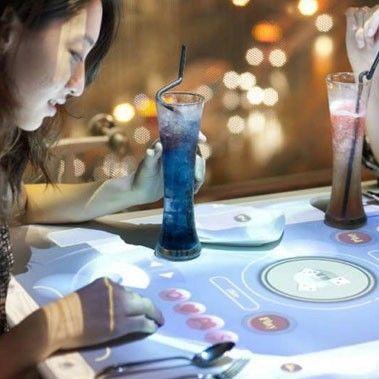 Interactive Digital Restaurant Tables