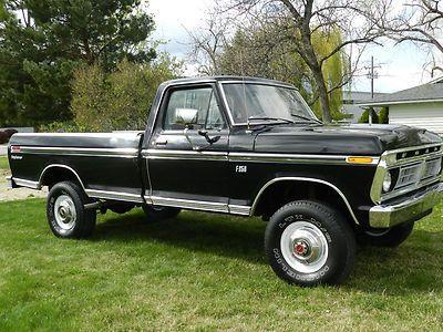 1976 Ford Truck Black