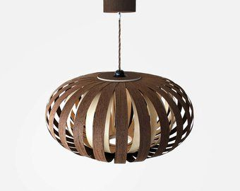 Ceiling Light Modern Natural Wood Veneer Exclusive Lamp Pendent Lampshade Lighting Patio Light Hanging Light From Sapele And Ash Led Modern Lampen