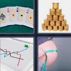 Ases Poker Monedas 4fotos 1palabra Com Con Imagenes 4