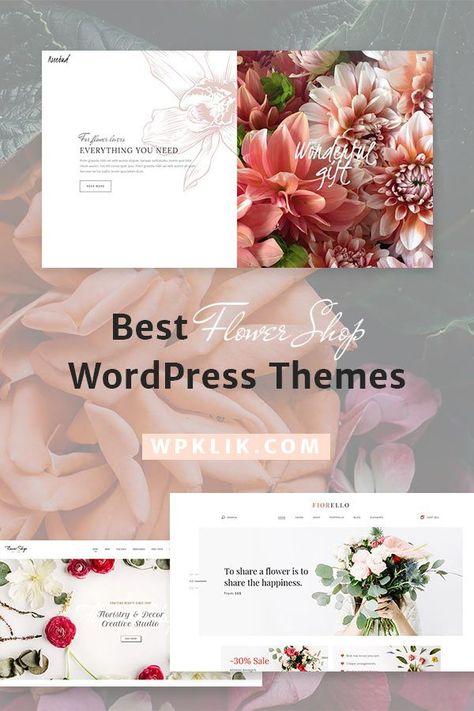 5 Best Flower Shop Wordpress Themes For 2020 Wpklik In 2020 Wordpress Theme Flower Shop Florist Website