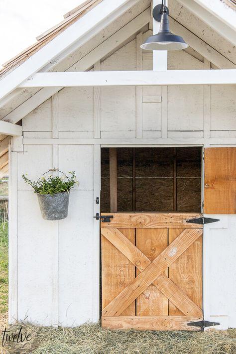 Simple and Stylish Goat House Design - Twelve On Main