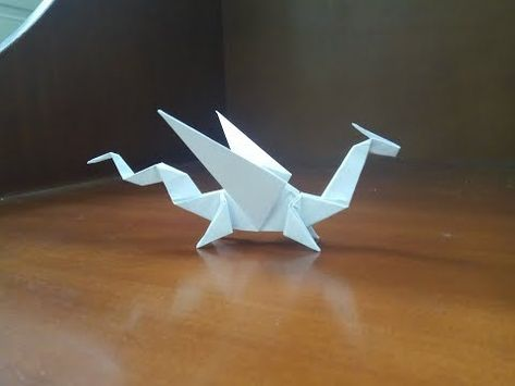 Origami Easy Dragon - How To Make a paper dragon - YouTube