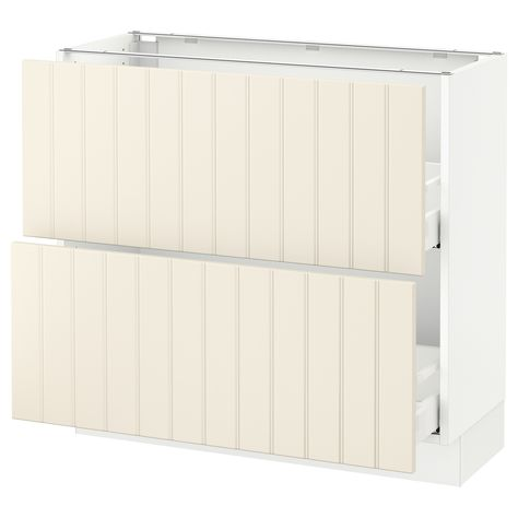 SEKTION Base cabinet with 2 drawers
