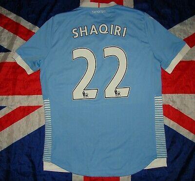 Details About Stoke City Away Football Shirt Jersey 2016 2017 Macron Xherdan Shaqiri Size L In 2020 Football Shirts Stoke City Shirts