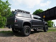 Z Series Truck Cap - OTR Option - Toyota Tundra | Year Range 2014 - & Overland Series Truck Cap - Ford Raptor | Year Range: 2008 ...