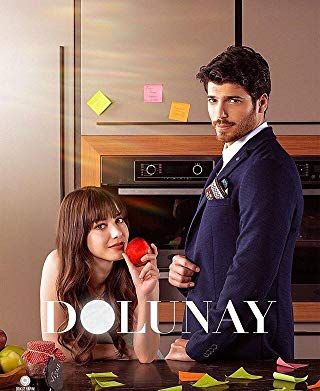 özge Gürel And Can Yaman In Dolunay 2017 Sanem Famous In Love Turkish Film