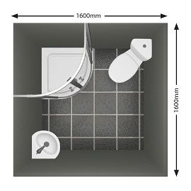 Create Photo Gallery For Website Small bathroom layout A m x m ensuite utilising a corner WC and basin Bathroom Laundry uc Pinterest Basin Small bathroom layout and Bathroom