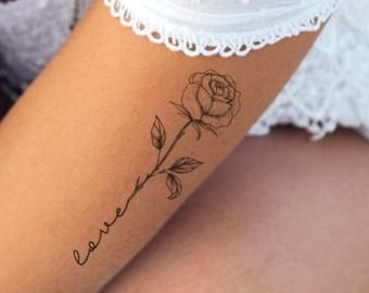 Side Thigh Tattoos Women, Small Thigh Tattoos, Rib Tattoos For Women, Black Girls With Tattoos, Butterfly Tattoos For Women, Flower Thigh Tattoos, Cute Girl Tattoos, Dainty Tattoos, Fake Tattoos