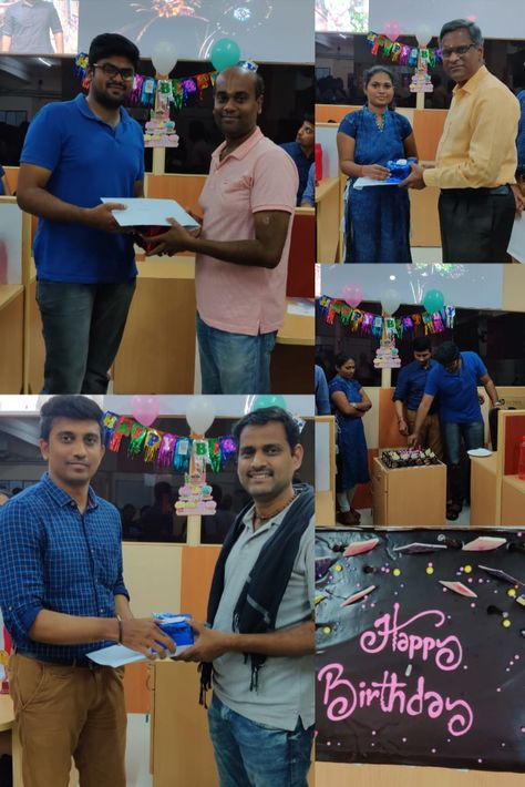 #December Month #bigbirthdaycelebration At @Sosaley Technologies !! Here's the glimpse of how we celebrated the #bigday! #birthdaycelebration.  We wishes a very happy birthday and #bestwishes.  #Decemberian #happybirthday #birthdaycelebrations #funtime #fun #birthday #birthdaycelebrationinoffice #corporatebirthday #cakecutting #cakes #funactivities #Decemberborns #celebrations #BirthdayWishes #BirthdayVibes #funatwork #happybirthdaycelebration #birthdayparties #birthdaycake #birthdaywish