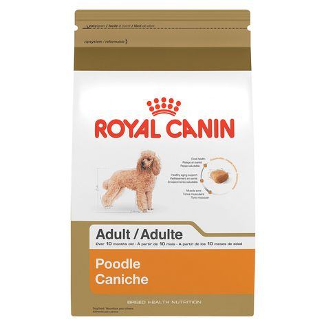 Royal Canin Breed Health Nutrition Poodle Adult Dog Food Size