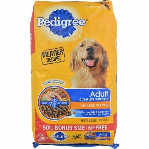 Pedigree Dry Dog Food 10lbs Or Larger 1 00 Off With Printable