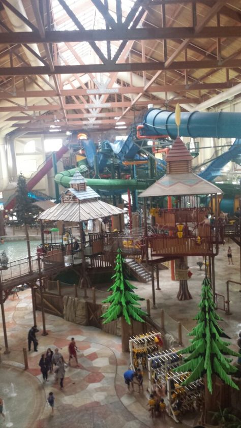 Our favourite place to stay. They have large suites that accommodate more guests than standard hotel rooms. Plus, the waterpark is excellent.