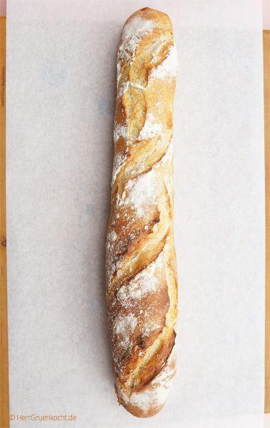 Französisches Baguette ganz einfach selber backen - Baguette, Frankreich, backen,