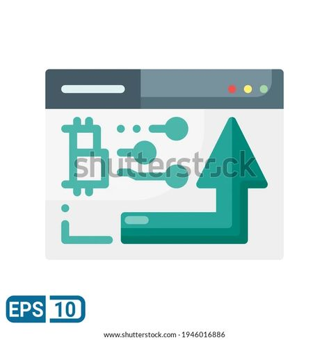 Bitcoin Icon Flat Style Isolated On Stock Vector (Royalty Free) 1946016886