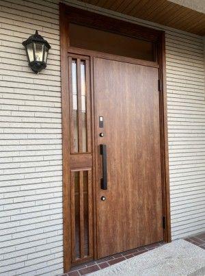 ボード 玄関ドアリフォーム 施工事例集 のピン