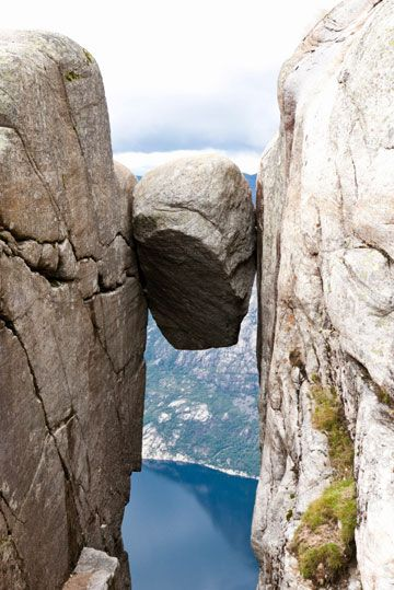 Mastered that rock in Norway