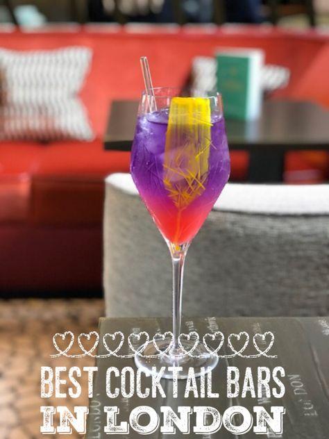 Best Cocktail Bars In London London Food Blog Best Cocktail Bars Fun Cocktails London Bars