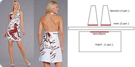 8c4b8234736 выкройки модных платьев