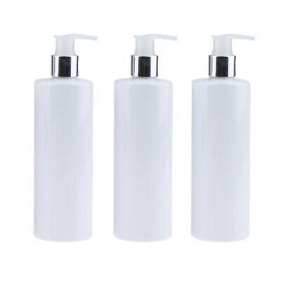 Advertisement Large Pump Bottles Cosmetic Conditioner Hand